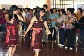 Wisatawan Kalteng Terpana Saksikan Tarian Adat Karo - Museum_GBKP.jpg