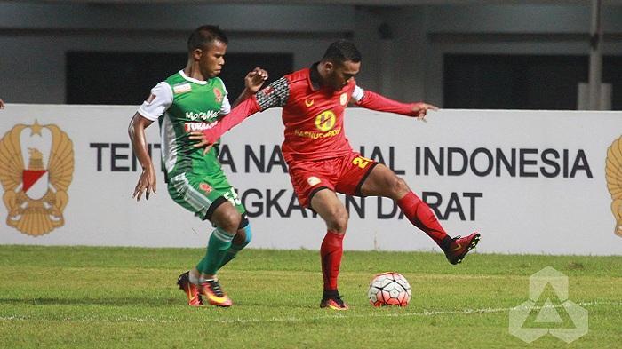Gol Junior Tak Menolong Saat Barito Putera Tumbang dari PS TNI