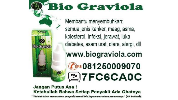 Terbukti Sembuh dari Penyakit Usai Gunakan Bio Graviola