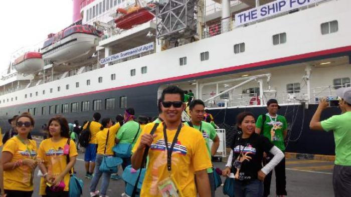 Tampilkan Budaya Khas di Kapal Nippon Maru