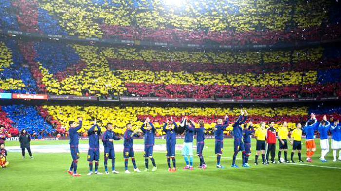 El Clasico Barca Vs Madrid Pecahkan Rekor Jumlah Penonton