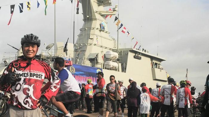 Pelabuhan Trisakti Diserbu Ribuan Goweser