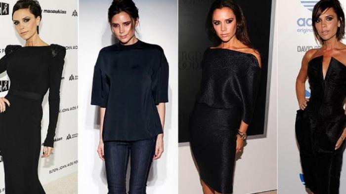 Gaun Rancangan Victoria Beckham Dijual Rp 24 Jutaan
