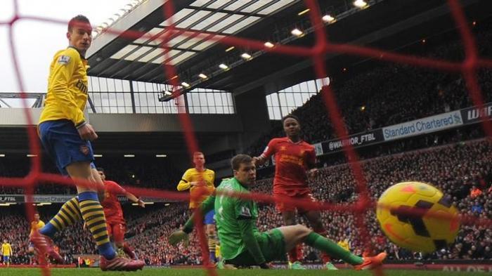 Rekor Pertemuan Arsenal dan Liverpool