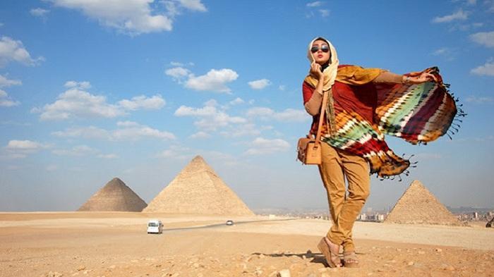 Iis Permata Sari Dikira Dangdutan di Mesir