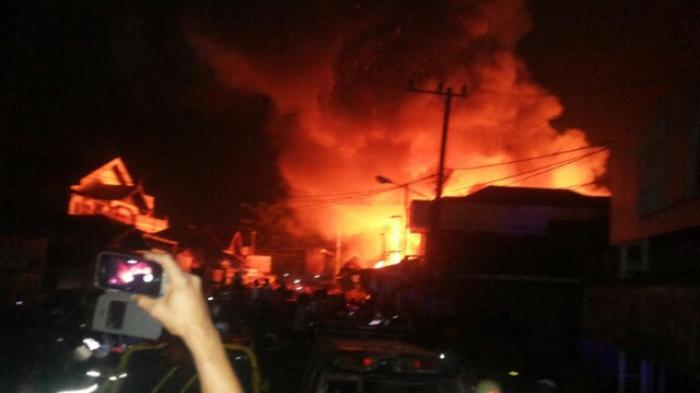 Kebakaran Pasar Lama