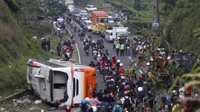 Kapolres: Rem Bus Blong