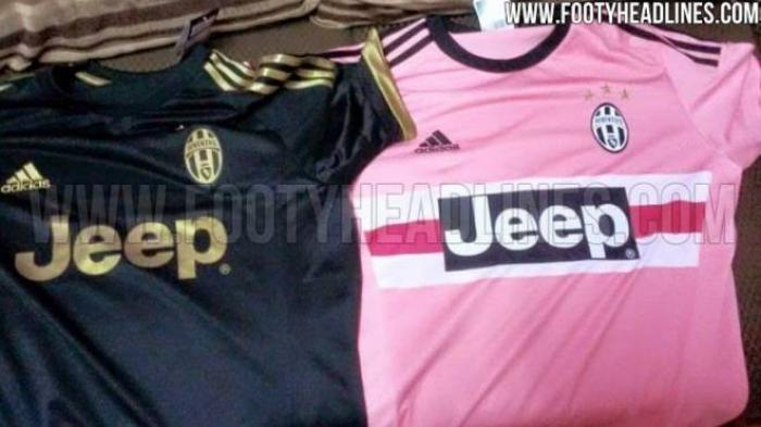 Juventus Kembali Pakai Jersey Pink