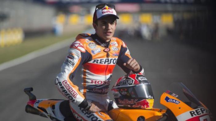 Marc Marquez Rajai Sirkuit Jerez Spanyol