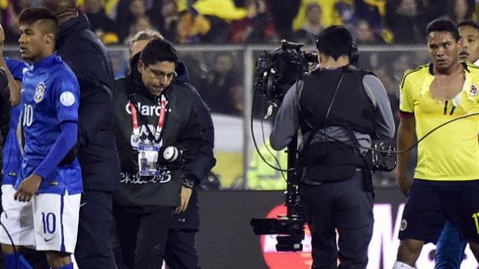 Kartu Merah Neymar pada Akhir Laga Pusingkan Dunga