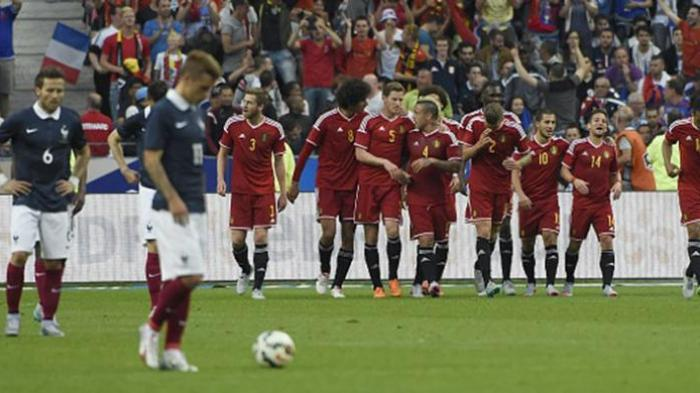 Perancis Kalah dari Belgia, Brasil Jaga Rekor Kemenangan