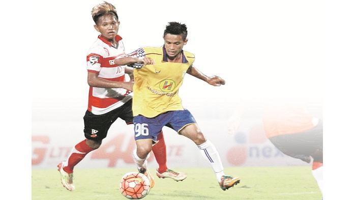Hiburan dari Laskar Junior Barito Putera U-21