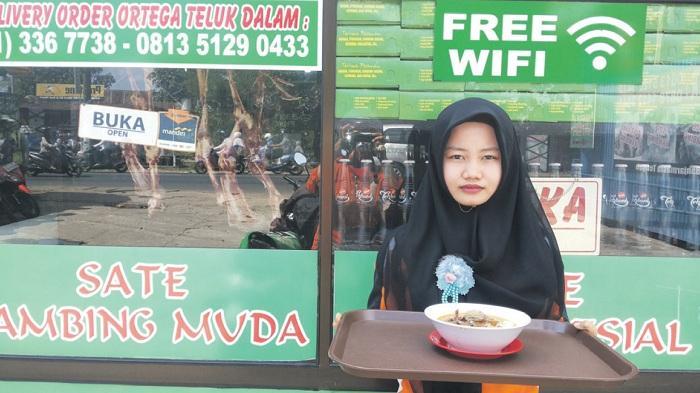 Promo Gulai Kambing di Rumah Makan Sate Ortega Hanya Rp 20 Ribu