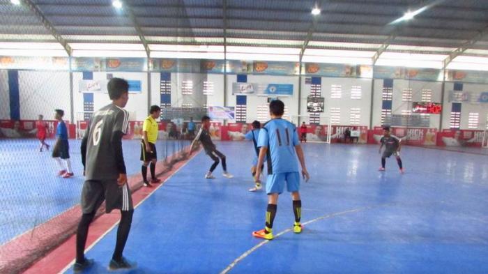 Debut Manis Mahdi Cs di Turnamen Futsal HUT MAN 1