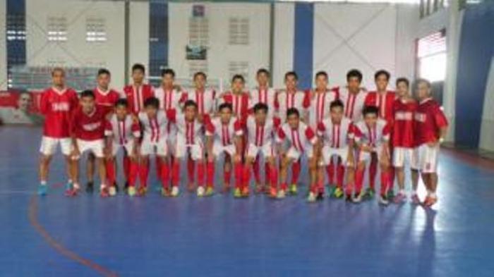 Futsal Pra PON Kalsel Permalukan Negeri Jiran