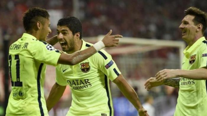 Barcelona Kuasai Skuad Terbaik Liga Champions