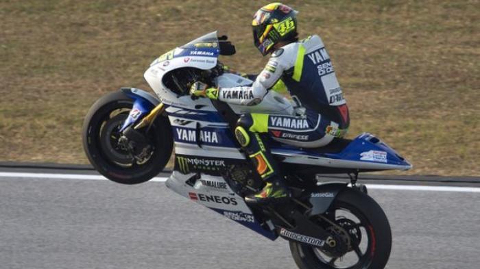 Rossi Yakin Bisa Tembus Tiga Besar
