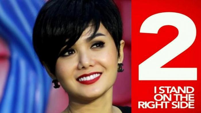 Yuni Shara Mantap Dukung Jokowi