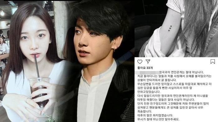 Rumor kencan member BTS