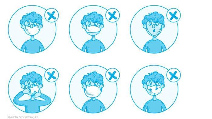 CEGAH Penularan Covid-19, UNICEF Ingatkan Hindari 6 Kebiasaan Salah Ini Saat Memakai Masker