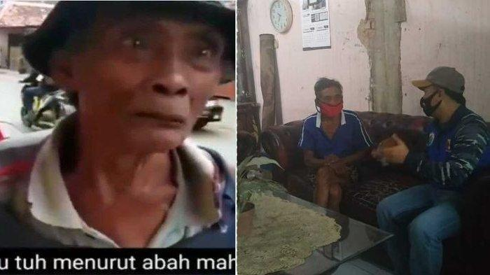 Abah Tono Mengaku Pemulung dengan Penghasilan 1.500, Ternyata Rumah Tingkat & Anak Kerja di Pabrik