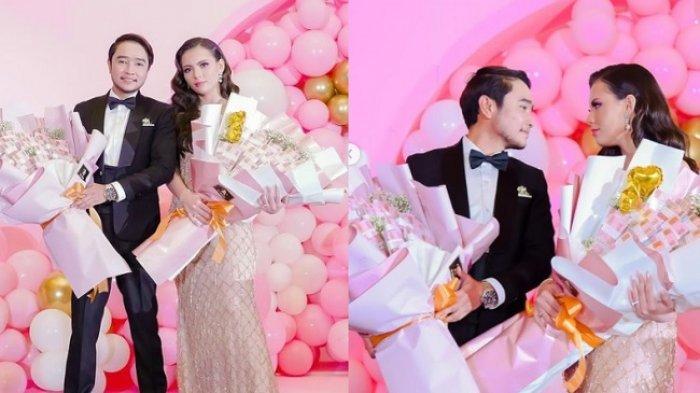 PUTUS dari Lucinta Luna, Abash Perlakukan Jeje Pacar Barunya Bak Ratu, Beri Buket Uang Rp 500 Juta