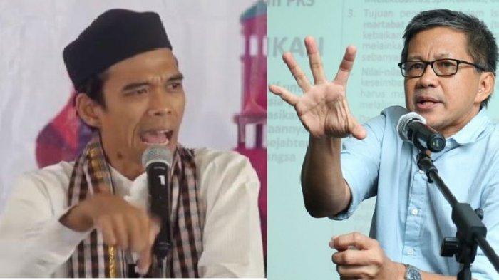 SERING KRITIK Jokowi, Rocky Gerung Ditanya Abdul Somad: Andai Jadi Presiden Mau Apa? Ini Reaksinya