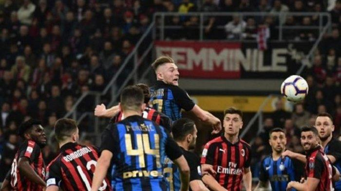 JADWAL Lengkap Liga Italia 2021 Besok Inter Milan, AC Milan & Juventus Main Live Streaming di RCTI