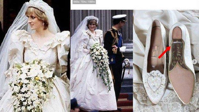 40 Tahun Lewat Pesan Rahasia Putri Diana di Sepatu Pengantinnya Terungkap, Ditulis untuk Charles