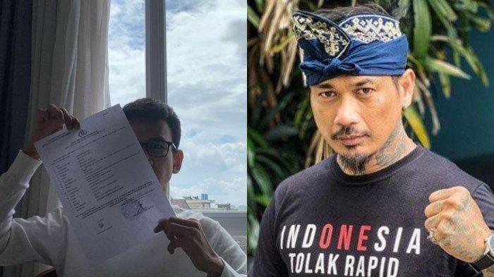 Jerinx Berurusan dengan Hukum Lagi, Blogger Adam Deni Melaporkannya Tuduhan Ancaman Kekerasan