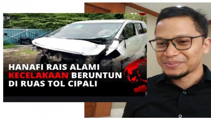 Putra Amien Rais Luka Berat, Korban Kecelakaan Beruntun di Tol Cipali, Infus Pereda Sakit Menancap