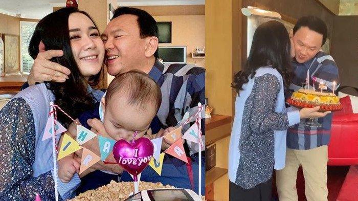 Deretan Foto Ulang Tahun Ahok, Saling Cium Pipi Hingga Ucapan Romantis Puput 'Bersyukur Memilikimu'