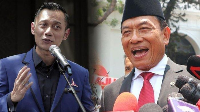 Moeldoko Tertawakan Tuduhan Kudeta AHY di Partainya SBY 'Dagelan! Emang Saya Bisa Todongin Senjata?'
