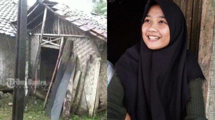 PAHIT Hidupnya Gadis 16 Tahun Tetap Senyum, Rumahnya Reot, Ibu Meninggal & Ayah Pergi Nikah Lagi