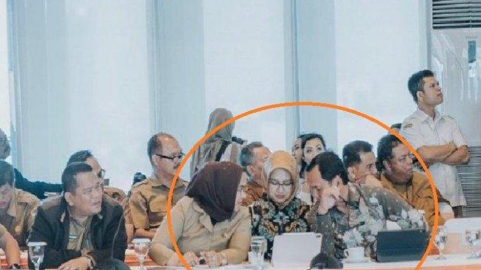 Beredar Foto Diapit 2 Pejabat Kini Positif Corona, Bagaimana Kondisi Walikota Airin? Ini Faktanya