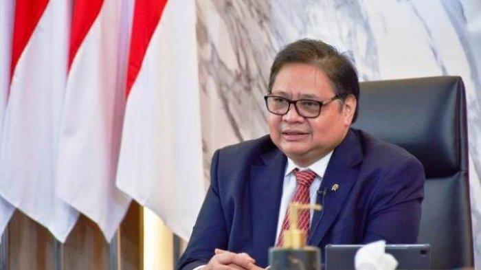 Menteri Koordinator Bidang Perekonomian dan Ketua Komite Penanganan Covid-19 dan Pemulihan Ekonomi Nasional (KPCPEN) Airlangga Hartarto.