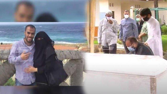 PENYESALAN Suami Soraya Abdullah yang Telah Tularkan Covid-19, Simpuh Nangis di Peti Jenazah Istri