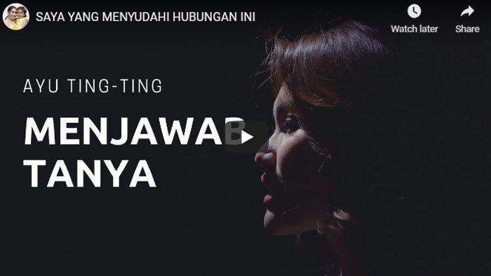 Ayu Ting Ting akhirnya buka suara soal penyebab batalnya pernikahan dengan Adit Jayusman.