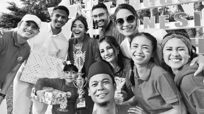 Amanda Manopo, Arya Saloka, dan pemain Ikatan Cinta rayakan HUT ke-76 RI