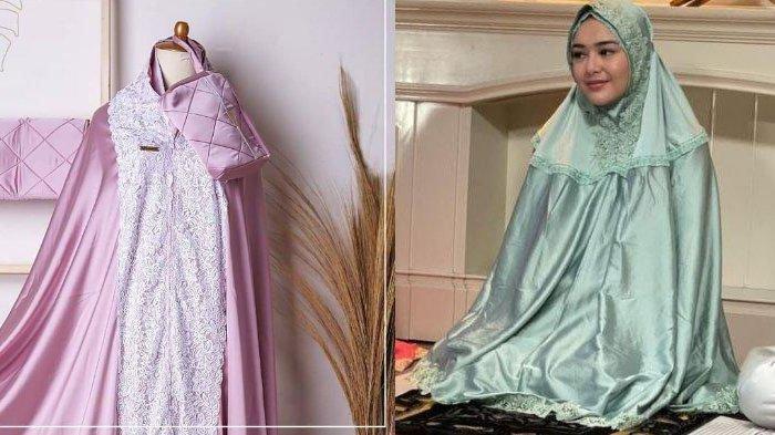 Amanda Manopo Mulai Bisnis Jualan Mukena 'Andin', Modelnya Mewah hingga Dibanderol Rp 1,3 Juta