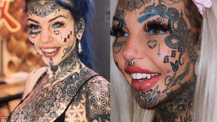 NEKAT Tato Mata Gadis Ini Sekarang Jadi Buta, Kini Kenang Foto Penampilan Lamanya, Cantik Bersinar