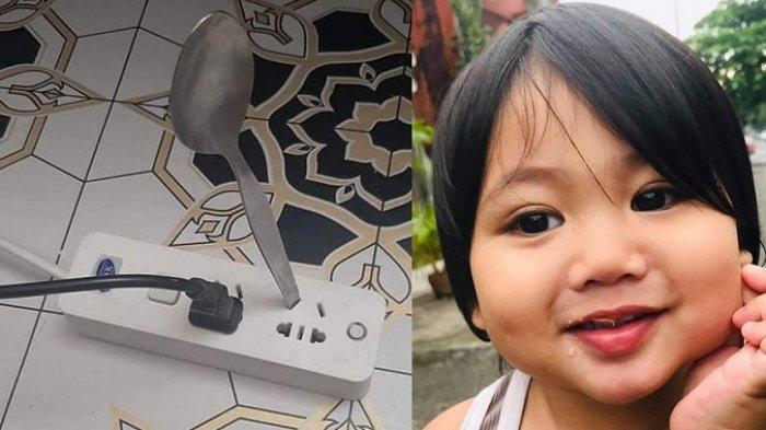 TERLAMBAT Penyesalan Ibu, Anak 2 Tahun Meninggal Tersetrum, Main Sendok Besi Ditancapkan Stop Kontak