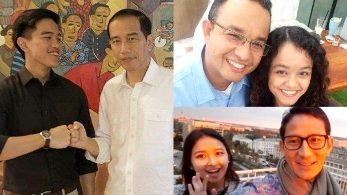 PERBANDINGAN Anaknya Jokowi, Anies Baswedan, Ganjar Pranowo, Sandiaga Uno, Siapa Paling Berprestasi?