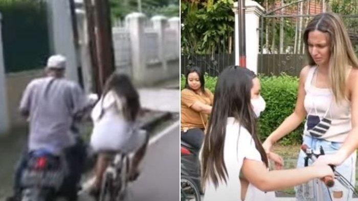 TERISAK Tangis Nia Ramadhani Pecah di Pinggir Jalan, Nyawa Mikhayla Terancam, Warga Cuma Menonton
