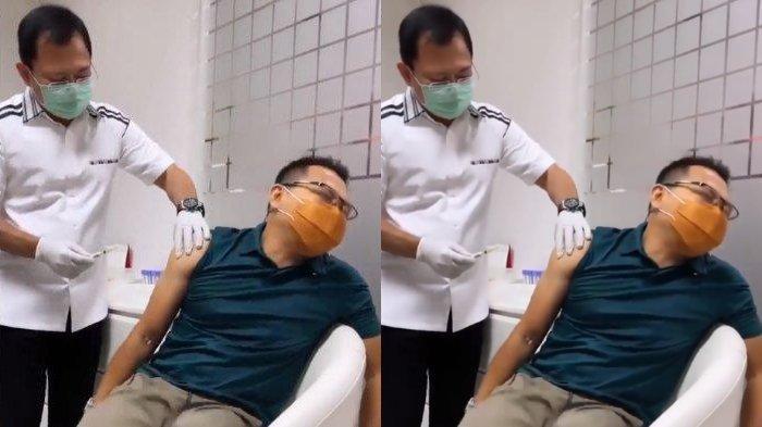 KETAKUTAN Disuntik Vaksin Nusantara oleh dr Terawan, Anang Hermansyah Kelojotan: 'Wedi Pak'
