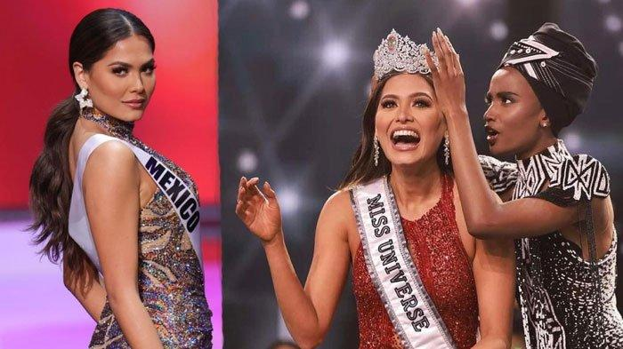 SIAPA Pemenang Miss Universe 2020? Simak Profil Andrea Meza dari Meksiko, Sabet Gelar 'Ratu Sejagad'