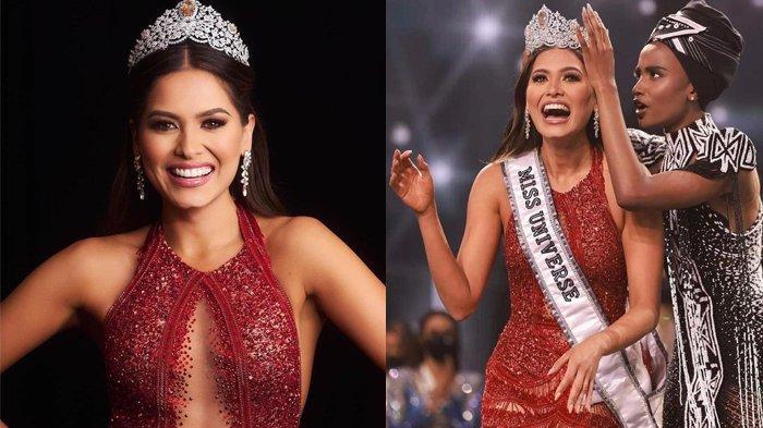 MEMUKAU, Ini Jawaban Andrea Meza Saat Ditanya Cara Atasi Covid-19, Layak Juarai Miss Universe 2020