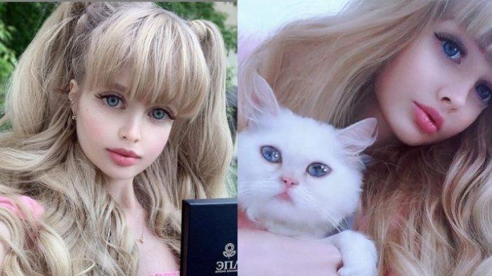 Angelica Kenova berwajah mirip Barbie