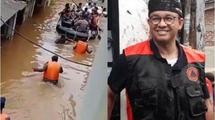 Kala Anies Baswedan Pamer Kesuksesan Atasi Banjir Lewat Testimoni Pengurus RT-RW 'Tak Punya Buzzer'