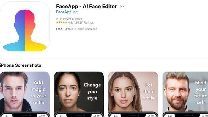 5 Cara Mengedit Instan Foto di FaceApp, Pengguna Harus Perhatikan Bahaya Aplikasi Ini